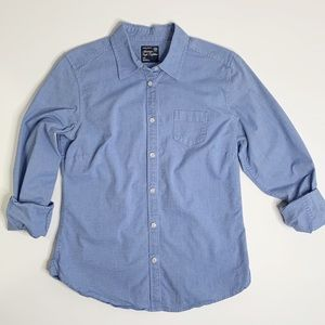 AMERICAN EAGLE CLASSIC PREP FIT BUTTON UP